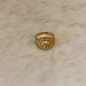 J. Crew Jewelry - J. Crew Demi Fine 14k Gold-Plated Lion Ring